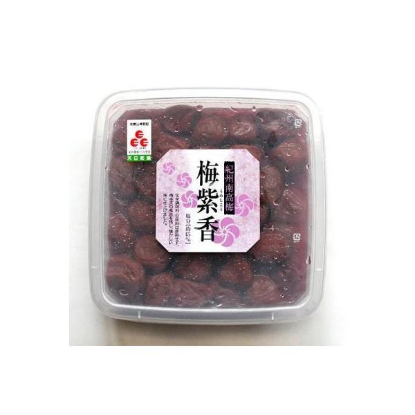 紀州南高梅 梅干し 梅紫香(うめしこう)1000g  無添加 無着色 和歌山県産