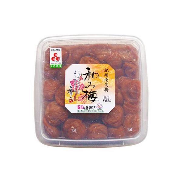 紀州南高梅 梅干し 和み梅 リンゴ酢 はちみつ漬け 1000g 無着色 和歌山県産