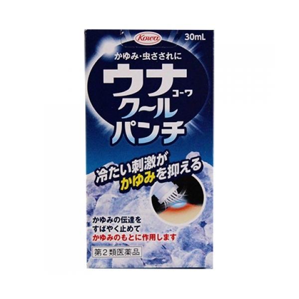【第2類医薬品】ウナコーワ クールパンチ 30ml busshouzan