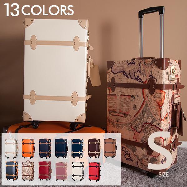 スーツケース キャリーケース トランクケース 一年間保証 1泊〜3泊用 Sサイズ 送料無料 小型 軽量 かわいい 4輪 TANOBI PP02&PP03|busyman-jp