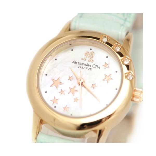 腕時計 レディース アレサンドラオーラ Alessandra Olla 腕時計 レディースウォッチ シューティングスター AO-810 BL ブルー