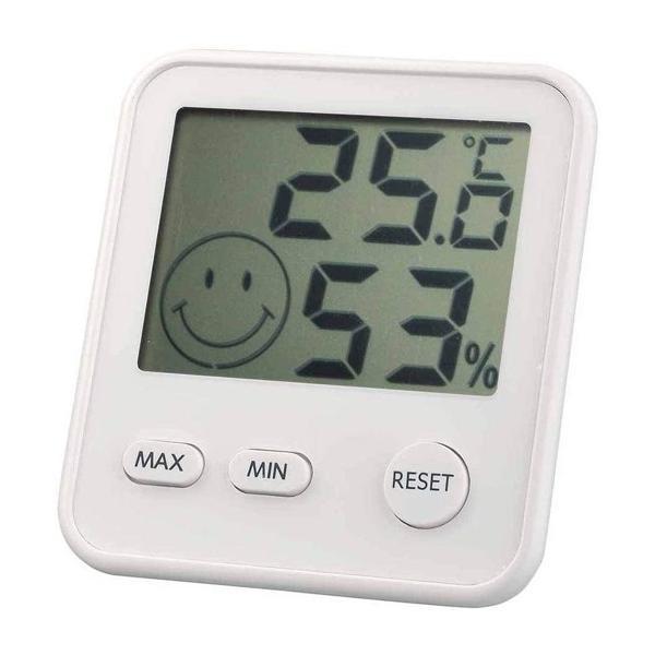 温度湿度計 温度計 湿度計 デジタル midi シルキーホワイト TD-8411 エンペックス empex