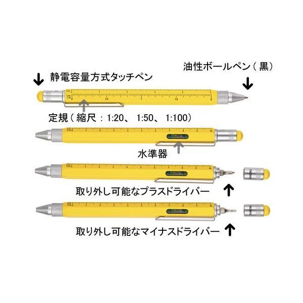 TROIKA トロイカ コンストラクション ジェントルマン マルチ機能付ボールペン アンティークゴールド PIP20/AG