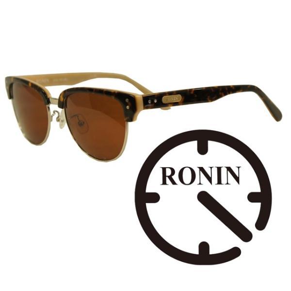 Ronin Eyewear ( ロニンアイウェアー ) 50/50 ミディアム ベッコウフレーム ブラウングラデーションポーラレンズ ( スケートボード スケボー サーフィン ステッ|butterflygarage|02