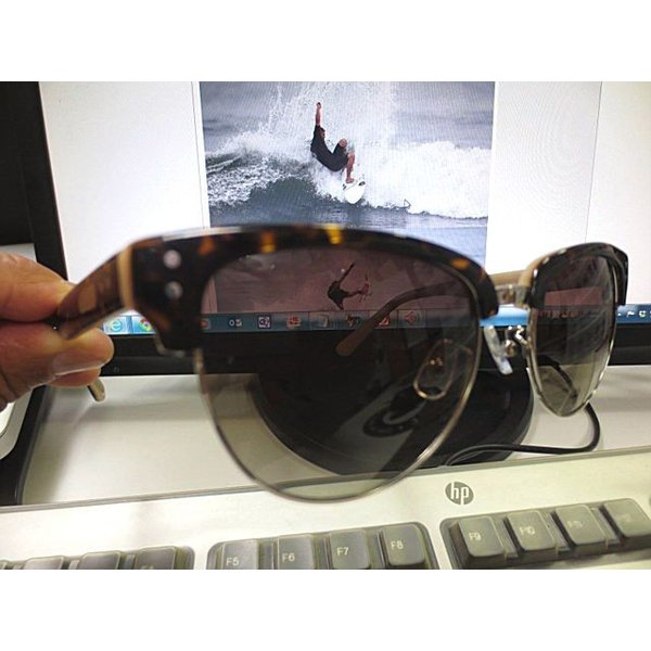 Ronin Eyewear ( ロニンアイウェアー ) 50/50 ミディアム ベッコウフレーム ブラウングラデーションポーラレンズ ( スケートボード スケボー サーフィン ステッ|butterflygarage|05