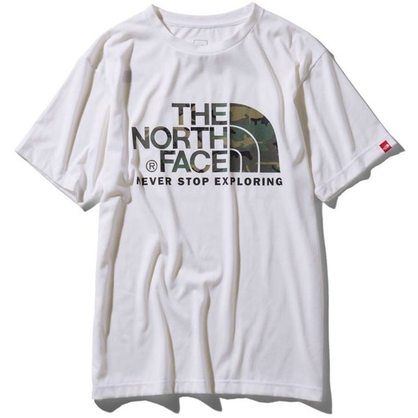 THE NORTH FACE ザ ノースフェイス 半袖 Tシャツ カモフラージュロゴティーアウトドア ブランド butterflygarage 02