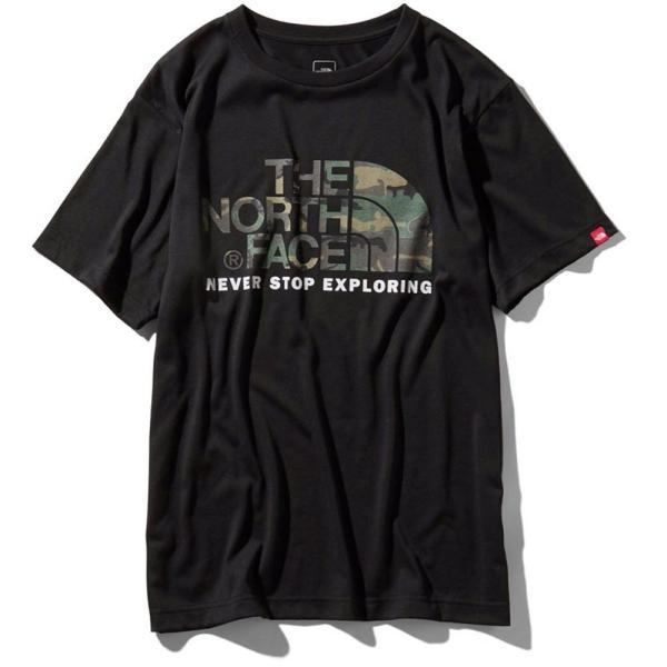 THE NORTH FACE ザ ノースフェイス 半袖 Tシャツ カモフラージュロゴティーアウトドア ブランド butterflygarage 03