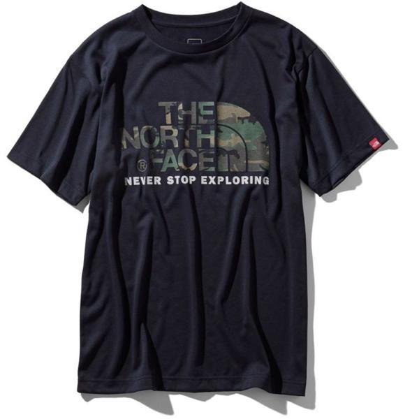 THE NORTH FACE ザ ノースフェイス 半袖 Tシャツ カモフラージュロゴティーアウトドア ブランド butterflygarage 04
