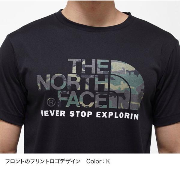 THE NORTH FACE ザ ノースフェイス 半袖 Tシャツ カモフラージュロゴティーアウトドア ブランド butterflygarage 06