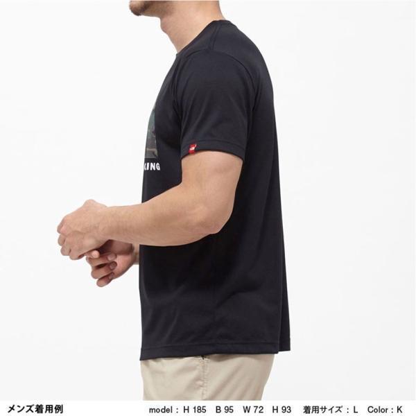 THE NORTH FACE ザ ノースフェイス 半袖 Tシャツ カモフラージュロゴティーアウトドア ブランド butterflygarage 08