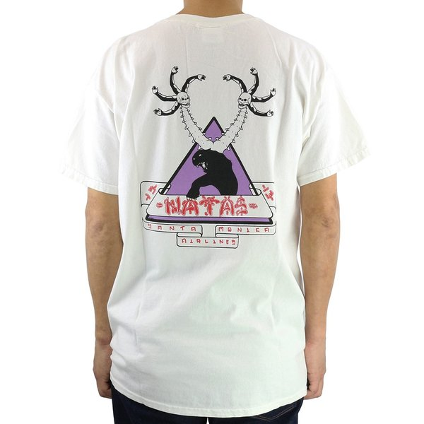 SANTAMONICA AIRLINES サンタモニカ エアライン Tシャツ 半袖 メンズ SMA Natas First Tee