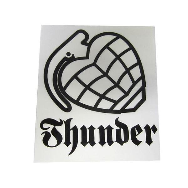 Thunder Trucks サンダートラック  White Sticker 15cm×13cm  スケートボード,ステッカー,サンダートラック butterflygarage 02