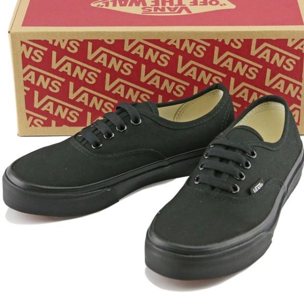 VANS バンズ Kids Classic Authentic Black/Black ヴァンズ オーセンティック スニーカー 靴 シューズ キッズ 子供|butterflygarage|02