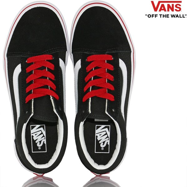 Vans バンズ キッズ スケボー シューズ 靴 Old Skool Pop Black/Racing Red スケートボード オールドスクール 子供 butterflygarage 05