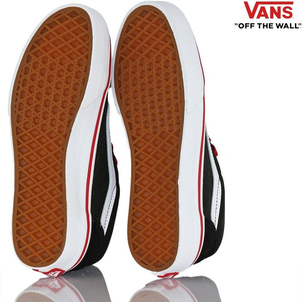Vans バンズ キッズ スケボー シューズ 靴 Old Skool Pop Black/Racing Red スケートボード オールドスクール 子供 butterflygarage 06