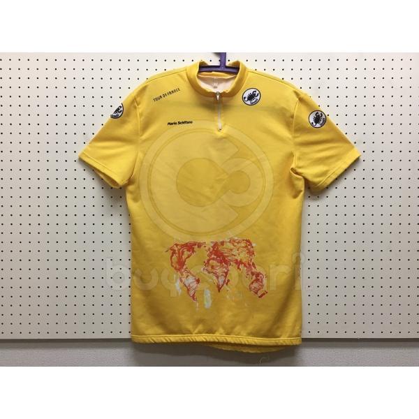 CASTELLI 「カステリ」 1989年 ツール・ド・フランス マイヨジョーヌ サイクルジャージ / 千葉中央店|buychari
