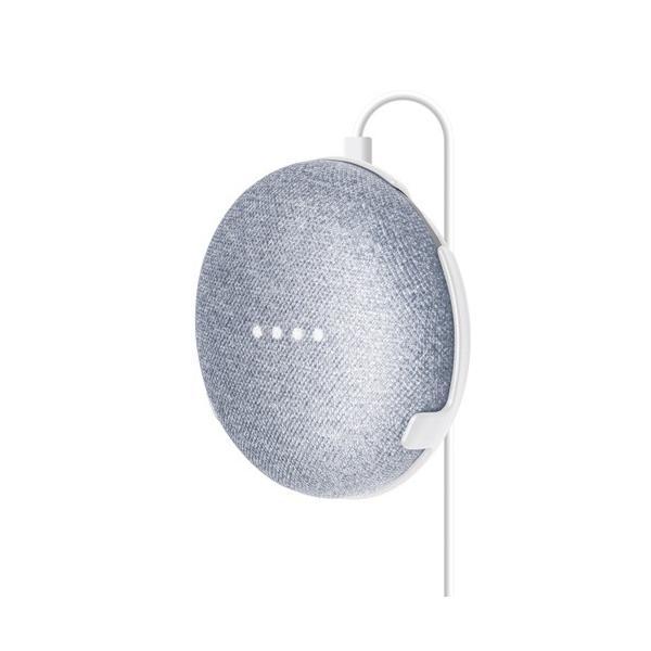 エレコム Google Home Mini用ウォールホルダー AIS-GHMH1WH ホワイトの画像