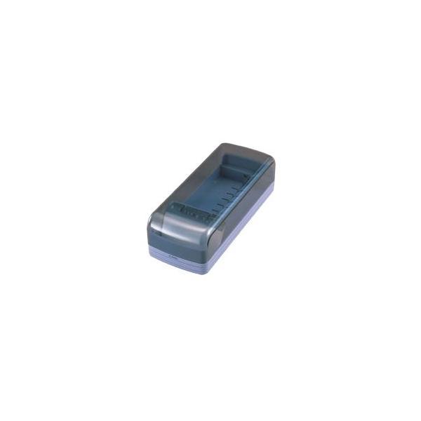 (まとめ) カール 名刺整理箱 No870E-B ブルー 1個入 〔×3セット〕