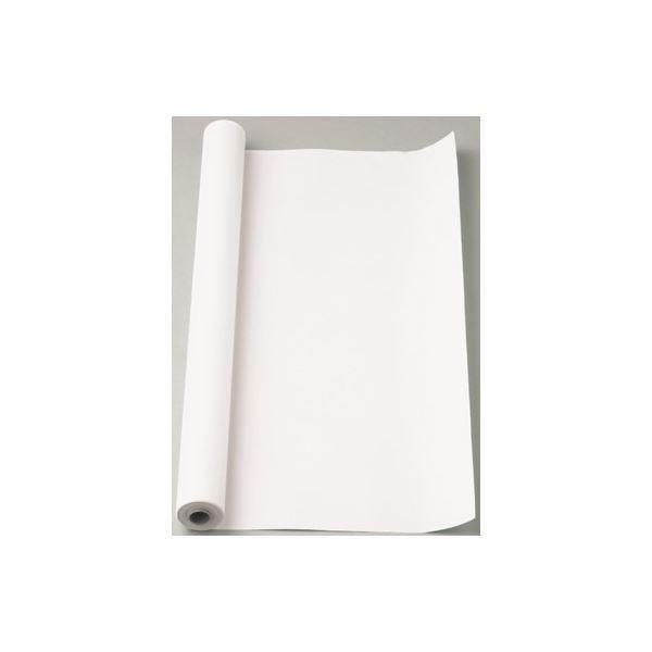 (まとめ) マス目模造紙 マス目ロール30 マ-53 ホワイト 1巻入 〔×2セット〕