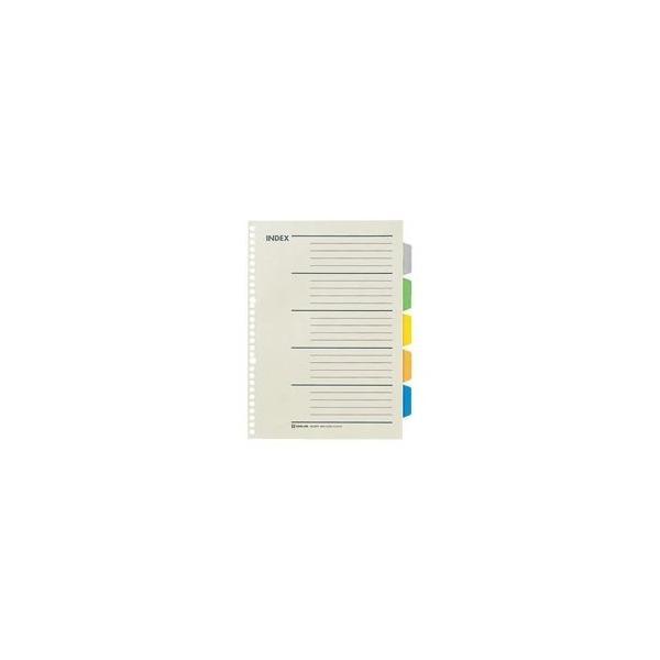 (業務用200セット) キングジム カラーインデックス/ファイル用仕切り 〔A4/多穴タイプ タテ型〕 30穴 907P