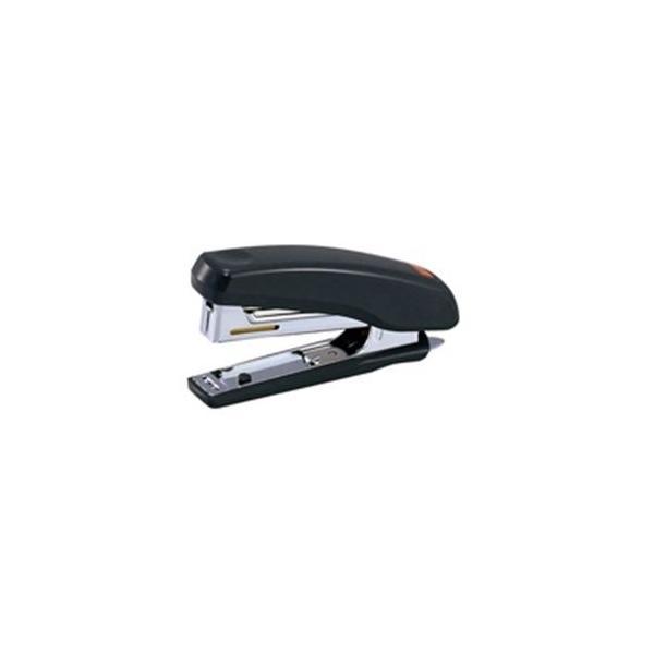 (業務用100セット) マックス ホッチキス HD-10NX ダークグレー HD90392