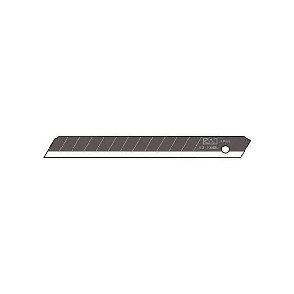 (まとめ) 貝印カミソリ 職専 替刃小超鋭角刃VS-50 1ケース(50枚) 〔×5セット〕