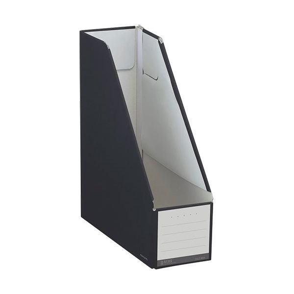 (まとめ)コクヨ ファイルボックス(NEOS)スタンドタイプ A4タテ 背幅102mm ブラック フ-NEL450D 1冊 〔×20セット〕