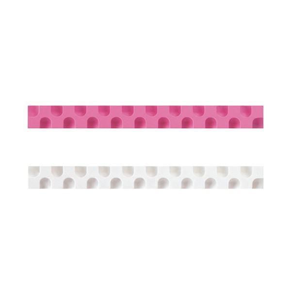 (まとめ)コクヨ 消しゴム カドケシスティックつめ替え用消しゴム(ピンク・ホワイト)ケシ-U600-3 1セット(20本:2本×10パック)〔×5セット〕