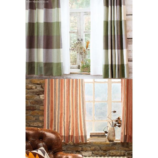 ヴィンテージデザインカーテン 幅150cm 丈135〜240cm ドレープカーテン 丸洗い 日本製 10柄 12900981|buzzhobby|03