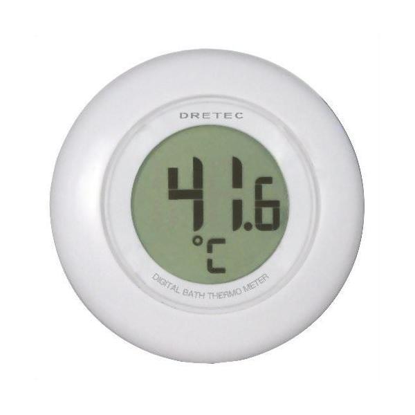 DRETEC デジタル湯音計 O-227WT ホワイト|buzzhobby