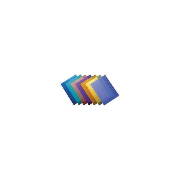 (業務用200セット) ジョインテックス Hカラークリアホルダー/クリアファイル 〔A4〕 10枚入り 赤 D610J-RD