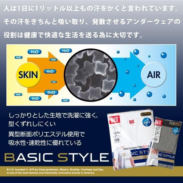 4枚セット BVD ボクサーパンツ 吸水速乾/BASIC STYLE/メンズインナー4