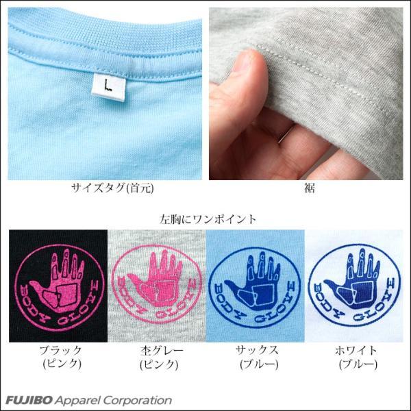 BODY GLOVE ボディグローブ 吸汗速乾 T/C天竺 丸首半袖Tシャツ インナー メンズ bvd 02