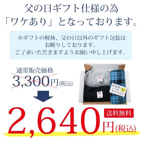 父の日 プレゼント ギフト BVD ステテコ+Tシャツ2枚の3点セット リラクシング|bvd|02