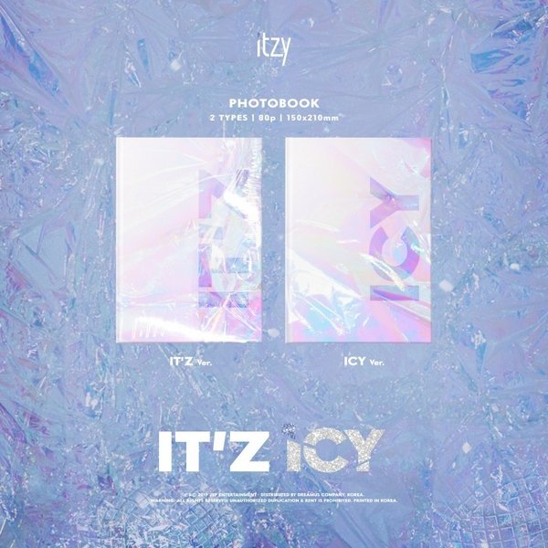 ITZY デビューアルバム IT'z ICY/イッジ  イッツアイシー:ICY Ver. c-factory 02