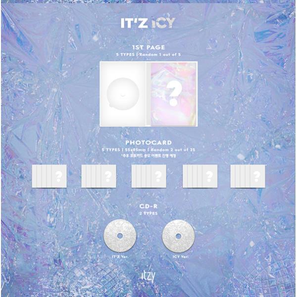 ITZY デビューアルバム IT'z ICY/イッジ  イッツアイシー:ICY Ver. c-factory 03