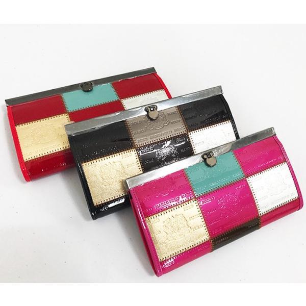おしゃれで高級感のあるレディース財布 長財布ーMarco Poloがま口財布|c-factory|02