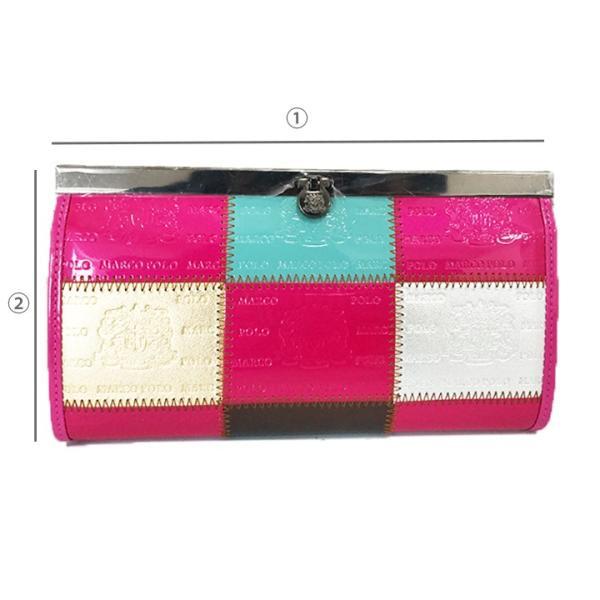 おしゃれで高級感のあるレディース財布 長財布ーMarco Poloがま口財布|c-factory|12