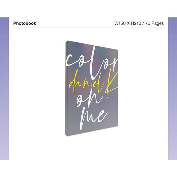DANIEL K 1st Mini Album / color on me ポスター付 カン・ダニエル 1st ミニアルバム「カラー・オン・ミー」|c-factory|04
