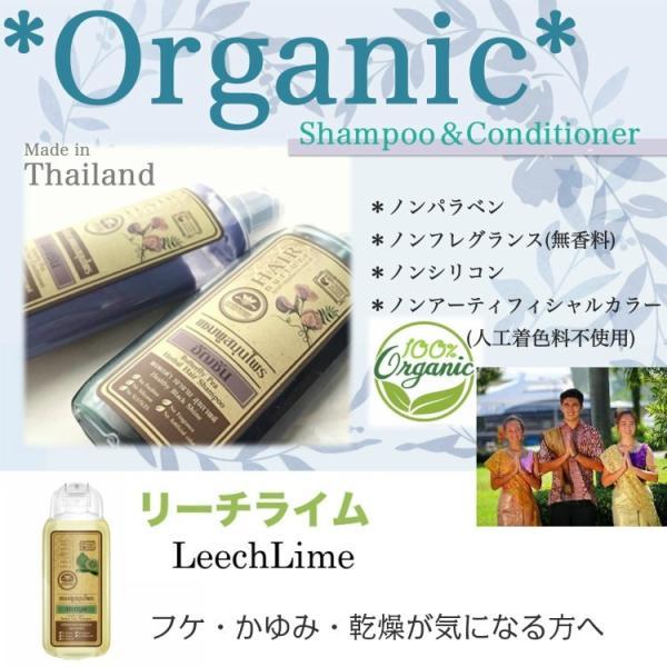 送料無料 タイ産 オーガニックシャンプー&コンディショナー リーチライム 美容 美髪 ふけ かゆみ 乾燥 人気 おすすめ|c-garden|02