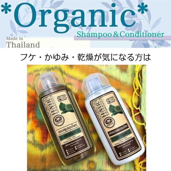 送料無料 タイ産 オーガニックシャンプー&コンディショナー リーチライム 美容 美髪 ふけ かゆみ 乾燥 人気 おすすめ|c-garden|06