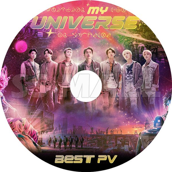  K-POP DVD/ BTS 防弾少年団 2021 BEST PV★MY UNIVERSE/ 防弾…