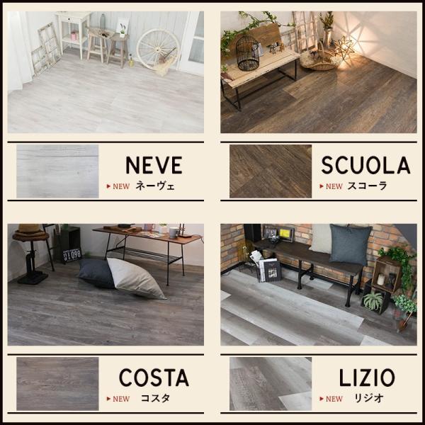 フロアタイル 床材 フローリング材 床のDIY 木目調 8枚入り オクダケプレミアムソフト K8F c-ranger 06