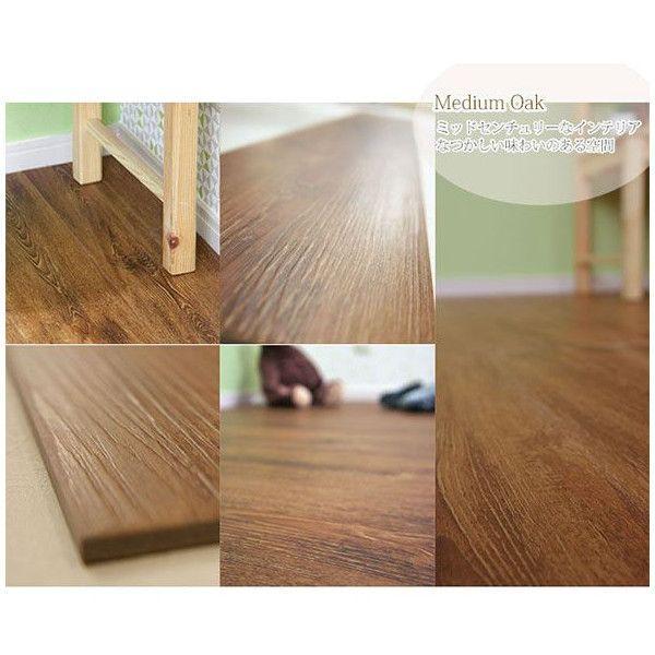 フロアタイル 床材 フローリング 床のDIY 木目調 10枚セット オクダケ|c-ranger|04