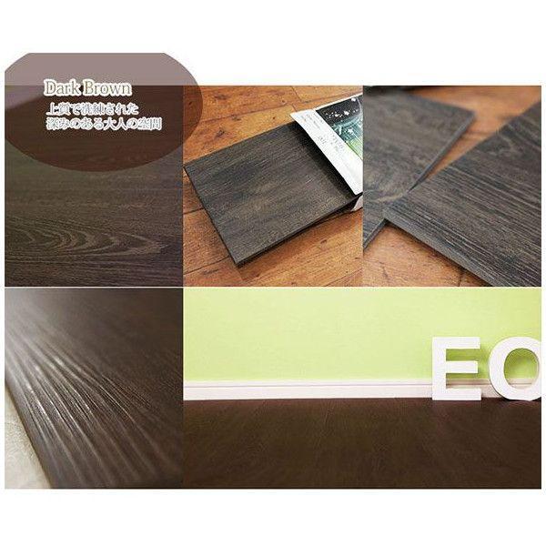 フロアタイル 床材 フローリング 床のDIY 木目調 10枚セット オクダケ|c-ranger|05