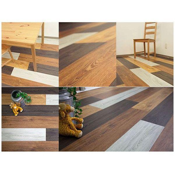 フロアタイル 床材 フローリング 床のDIY 木目調 10枚セット オクダケ|c-ranger|06