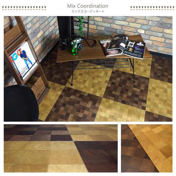 フロアタイル 床材 フローリング材 床のDIY 木目調 16枚入り スティッキーズ クラシック ランダムエンボス|c-ranger|05