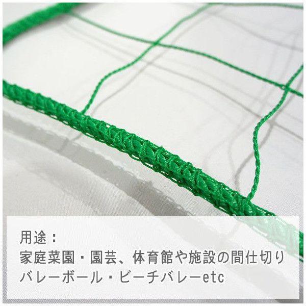 NET29 園芸  緑のカーテン グリーン バレーボールネット 巾301〜400cm 丈401〜500cm c-ranger 04