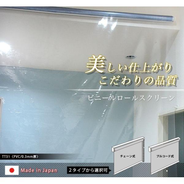 スクリーン 透明 ロール