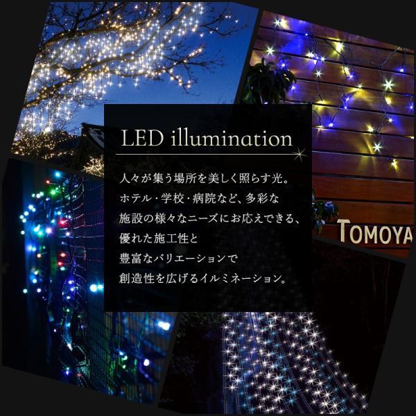 イルミネーション LED クロスネット MIXカラータイプ 3.3m×1.3m|c-ranger|02